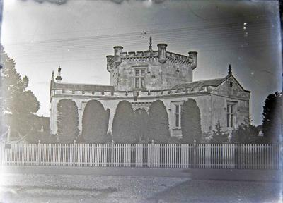 Oamaru Gaol. Built in 1869. Demolished, 1921.
