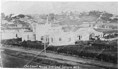 Old Court House and Gaol Oamaru 1869