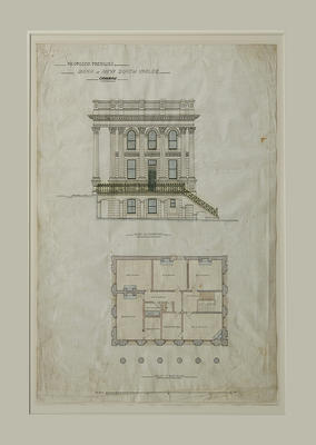 Proposed Premises for Bank of New South Wales, Oamaru