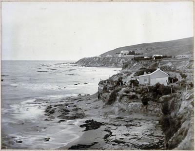 Shag Point Bay and School