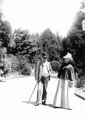 John and Agnes Reid. Elderslie Estate