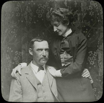 Douglas Reid and wife. Elderslie Estate