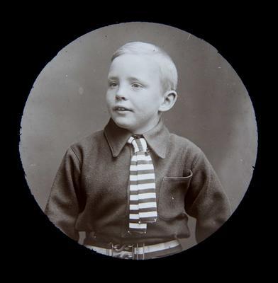 Boy unidentified. Portrait