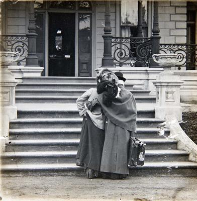 Unidentified women. Elderslie Estate homestead