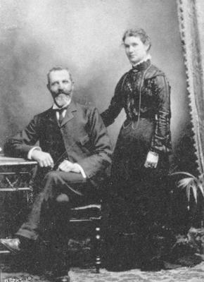 Mr & Mrs George Livingstone 'Te Kainga' Elderslie