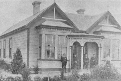 Mr George Livingstone's Residence 'Te Kainga' Elderslie