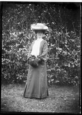 Elderslie Estate. Female portrait unidentified