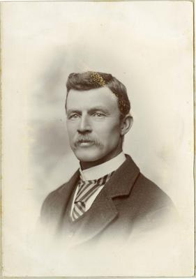 Man's portrait, unidentified