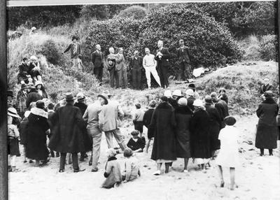 Start of Marine Parade, Cape Wanbrow, 1929