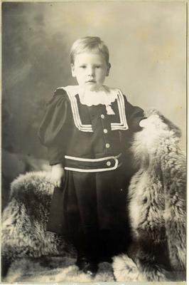 Child's portrait, unidentified