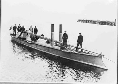 Torpedo Boat, Oamaru Harbour