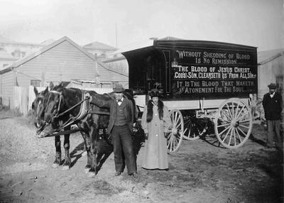 Binskin's Itinerant Bible Carriage.