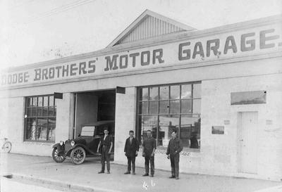 Dodge Brothers Motor Garage