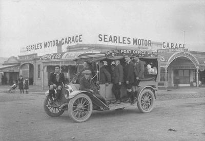 Searle's Motor Garage, North Otago
