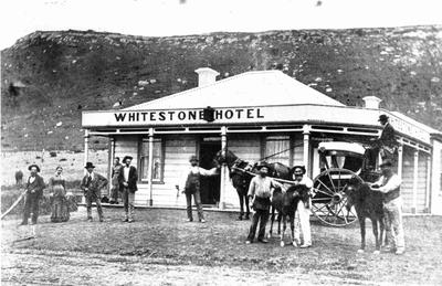 Whitestone Hotel, located between Enfield and Weston.