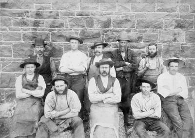 North Otago Foundry (?) workers