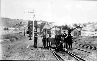 Oamaru Railway Station Staff