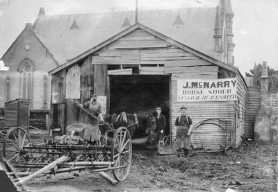 J McNarry, Horse Shoer, General Blacksmith,