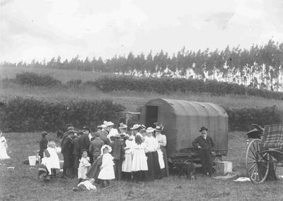 Church Picnic, Ngapara c.1900