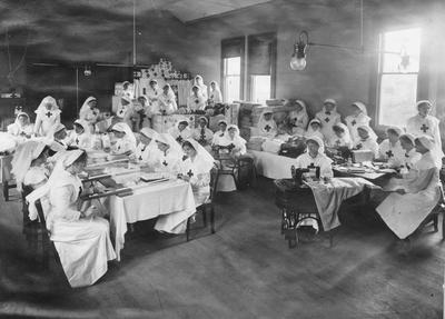 Red Cross ladies,
