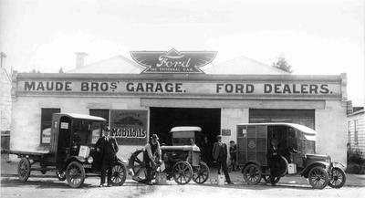 Motor Garage, North Otago