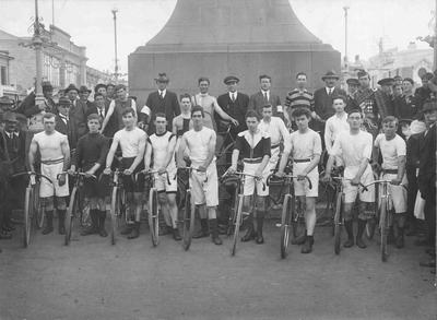 Leader Cycle Works. Road Race 29 March, 1920