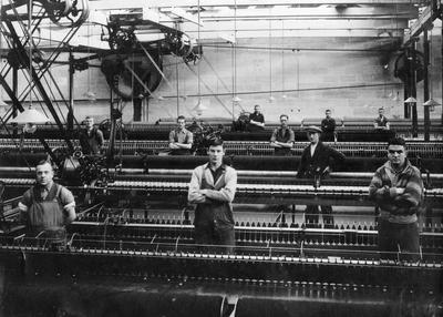Oamaru Woollen Mills staff