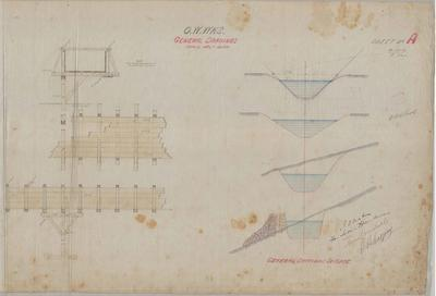 Oamaru Waterworks. General Drawings. Sheet A.
