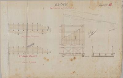 Oamaru Waterworks. General Drawings. Sheet B.