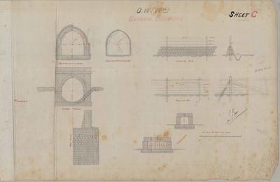 Oamaru Waterworks. General Drawings. Sheet C.