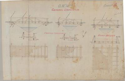 Oamaru Waterworks. General Drawings. Sheet E.