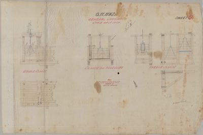 Oamaru Waterworks. General Drawings. Sheet G.