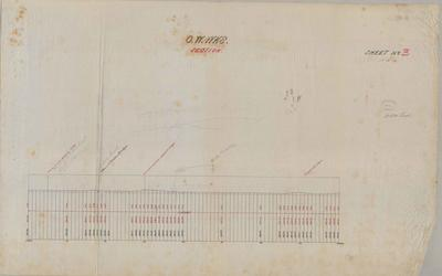 Oamaru Waterworks. Section. Sheet number 3 [Awamoko Section].