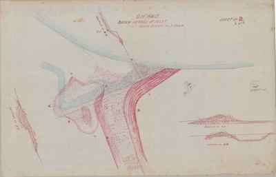 Oamaru Waterworks Sketch Details of Inlet. Sheet number 2 [Black Point Section].