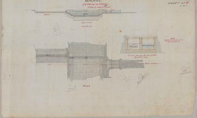 Oamaru Waterworks Details of Pond. Sheet number 4 [Black Point Section].