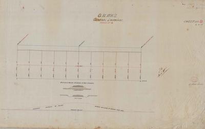 Oamaru Waterworks General Drawings. Sheet number 8 [Black Point Section].