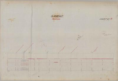 Oamaru Waterworks Section Sheet number 4 [Papakaio Section].