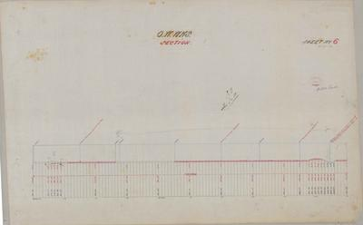 Oamaru Waterworks Section Sheet number 6 [Papakaio Section].