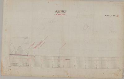 Oamaru Waterworks Section. Sheet number 3 [Landon Contract].