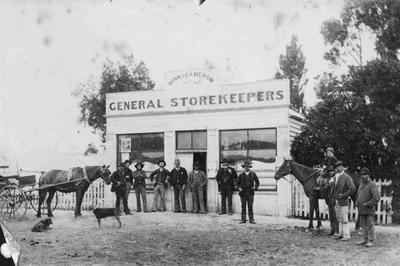 Dunn & Cameron, General Storekeepers, Ngapara