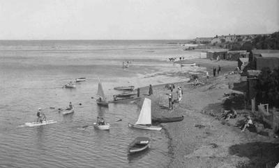 Boats at the Kakanui Rivermouth