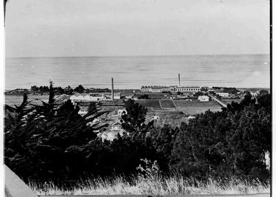 Elevated View, Oamaru - Woollen Mills