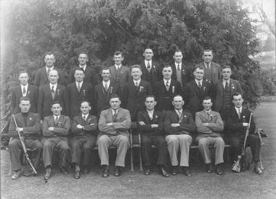 North Otago Miniature Rifle Association, A & B Representative Teams, 1939.