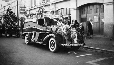 Coronation float? Coquet Street