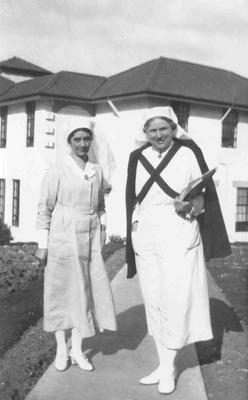 Jones, Adeline.  Mackie, M. Oamaru Public Hospital