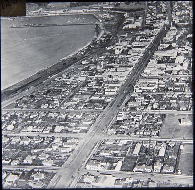 Oamaru from the Air, 1937
