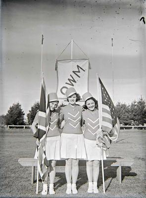 """Oamaru Woollen Mills Marching Team """"Kiwi's"""""""