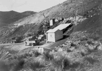 Airedale Coal Mine, c.1945.