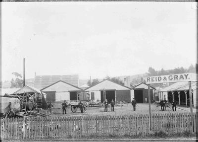 Reid and Gray's premises, corner of Thames and Eden Streets