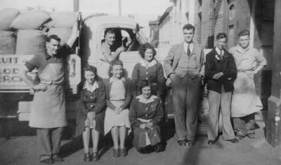 John M Fraser's staff, Ribble Street, c. 1946